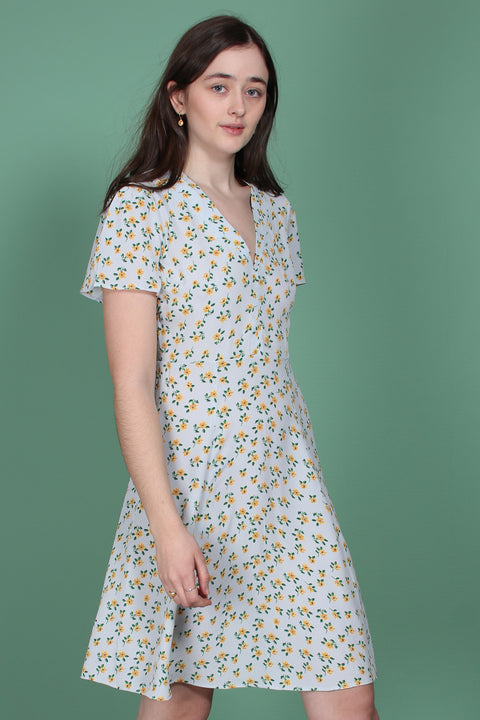 50s dress - Sunflower (1523716587555)