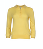 Ursula Knit Polo - Sunshine - Second Female - Gensere - VILLOID.no