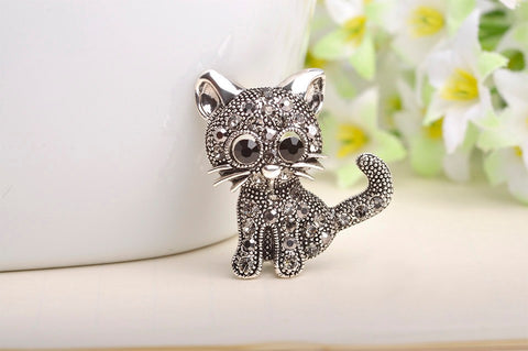 Lovely Little Cat Pin