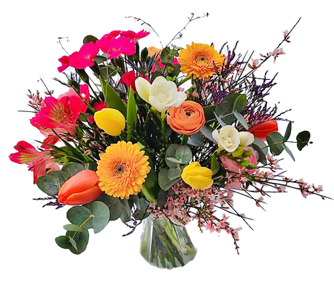 Frisches Bouquet im Abo - gross (ca. 40 cm)