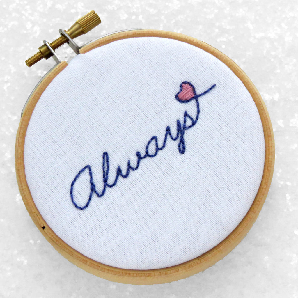 Free Valentines Embroidery Pattern