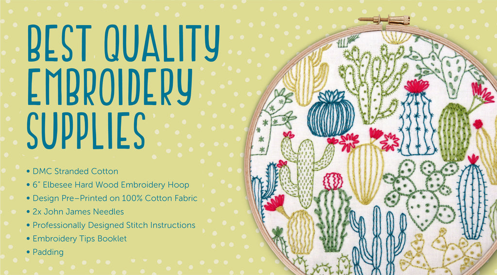 Learn A New Skill, Embroidery Sampler Kits, Modern Hand Embroidery Kits, Hoop Art Sampler