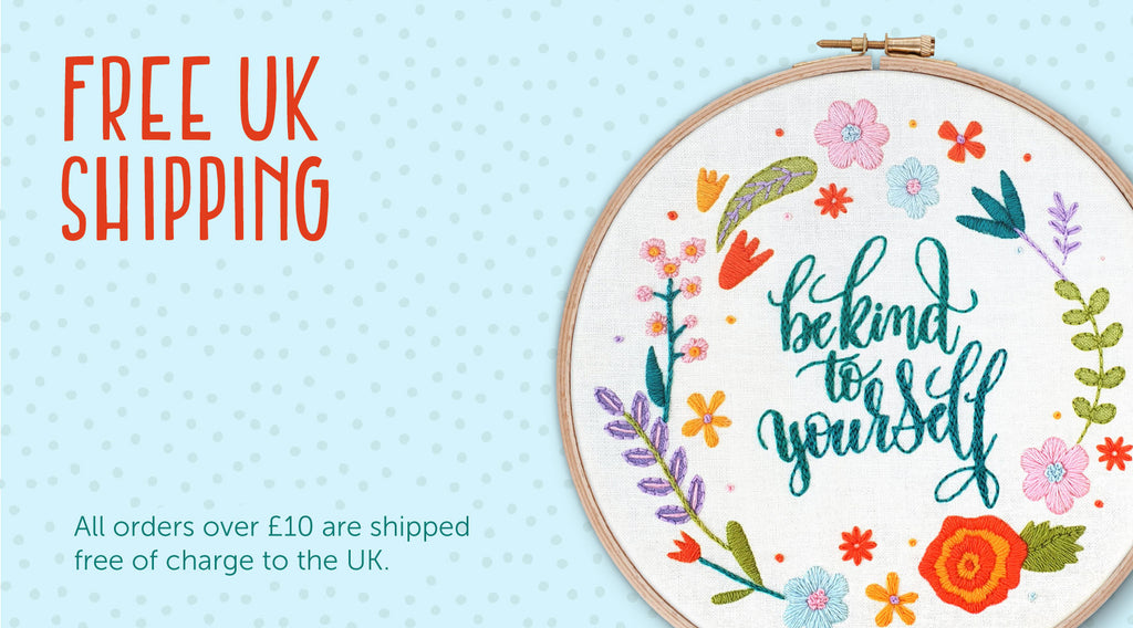 Get Cozy, Winter Hoop Art Projects, Christmas Gifts, Stocking Fillers, Xmas Hoop Art Kits