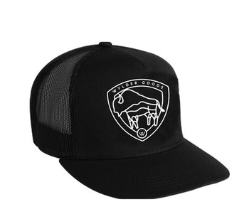 BISON SCREEN PRINTED TRUCKER HAT
