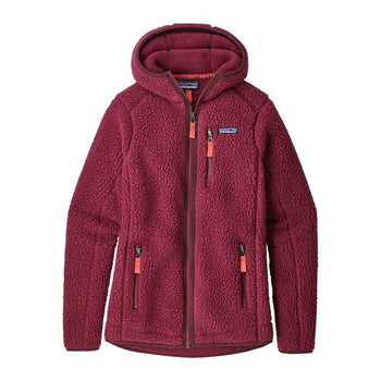 RETRO PILE FLEECE HOODY