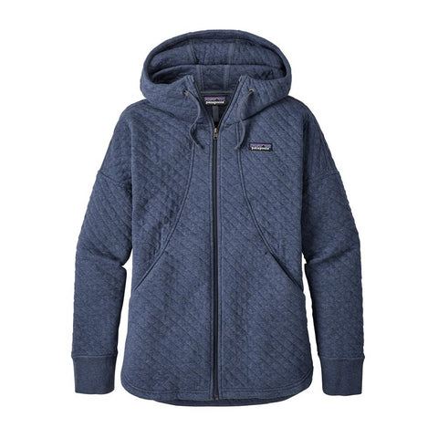 COTTON QUILTED HOODY