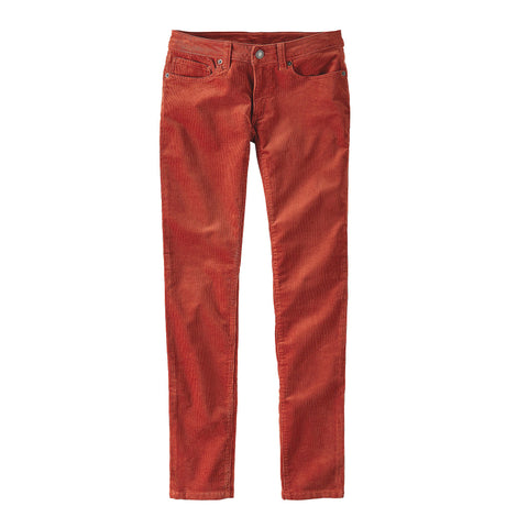 FITTED CORDUROY PANTS