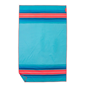 TURQUOISE CAMP TOWEL