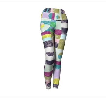 CHROME PONY SUNRISE LEGGINGS