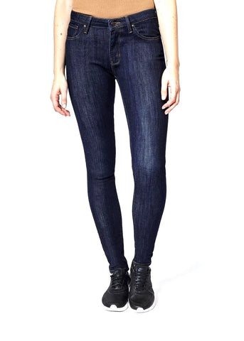 DISH SKINNY JEANS-RINSE