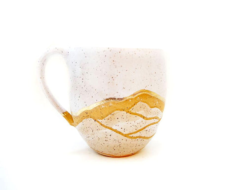 GOLD MOUNTAIN MUG