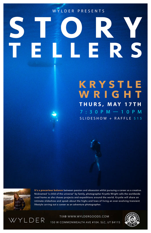 Storytellers Series: Krystle Wright