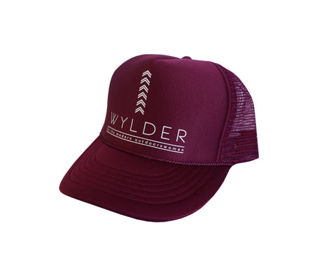 WYLDER SCREEN PRINTED TRUCKER HAT