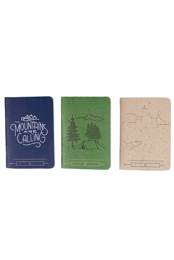 UNITED BY BLUE ADVENTURE BOUND NOTEBOOK (3 PACK)