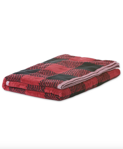 BUFFALO CHECK BEACH TOWEL-40