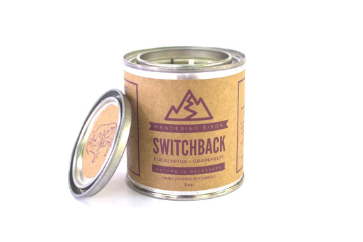 SWITCHBACK- EUCALYPTUS & GRAPEFRUIT SOY CANDLE-8oz