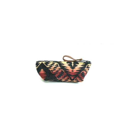 DESERT DIAMOND WOOL POUCH-S