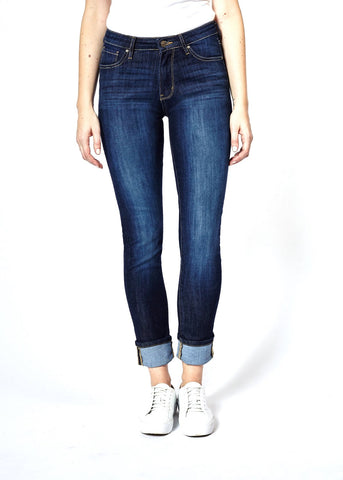 DISH STRAIGHT & NARROW JEANS-INDIGO