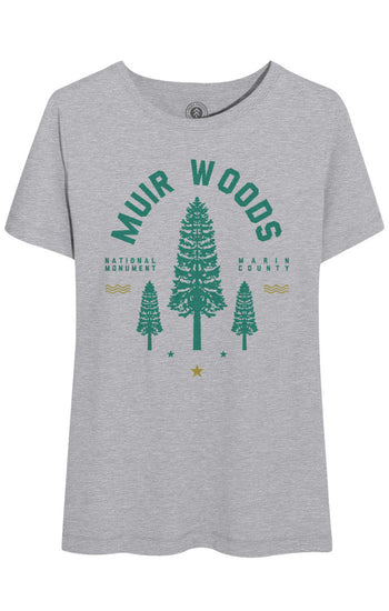 MUIR WOODS REDWOOD TEE