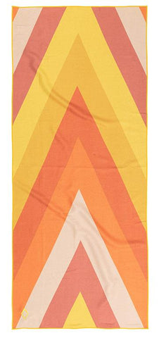 A-FRAME YELLOW TOWEL