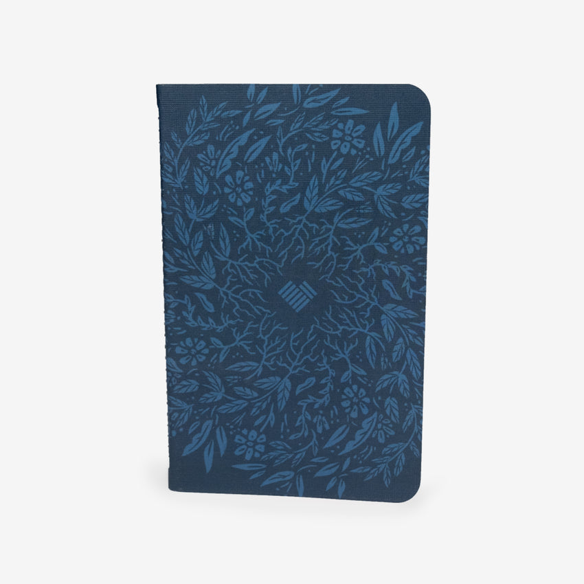 "May Design Journal ""Rooted Heart"" Navy Dot Grid Journal that helps refugees"
