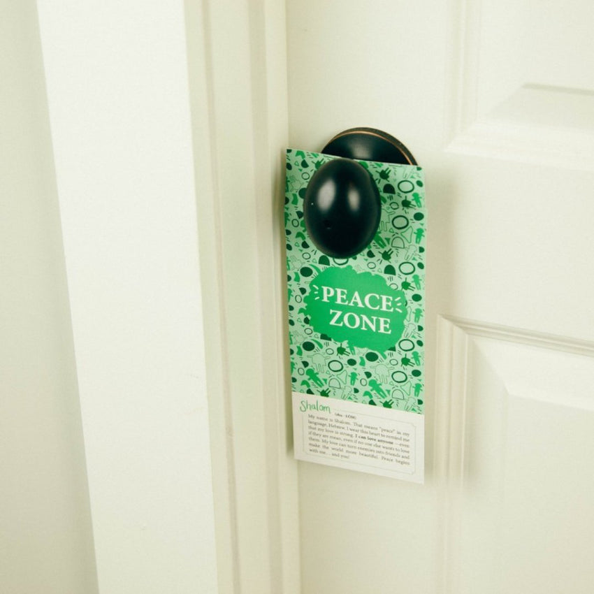interactive door hanger great activity for kids