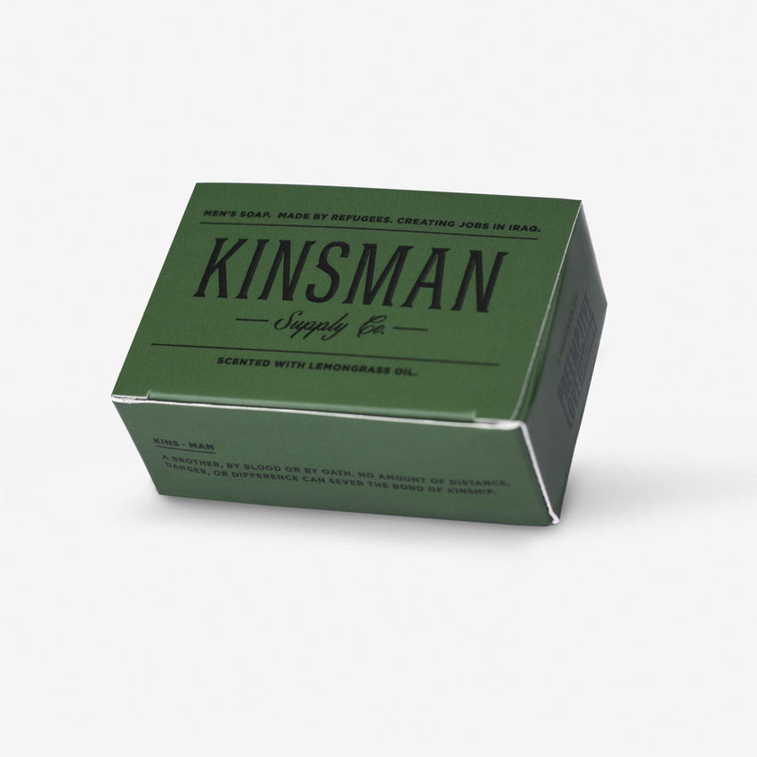 Kinsman Soap, Lemongrass Charcoal Gift Set