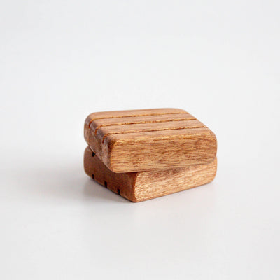 Handmade Indonesian Hardwood Soap Dish