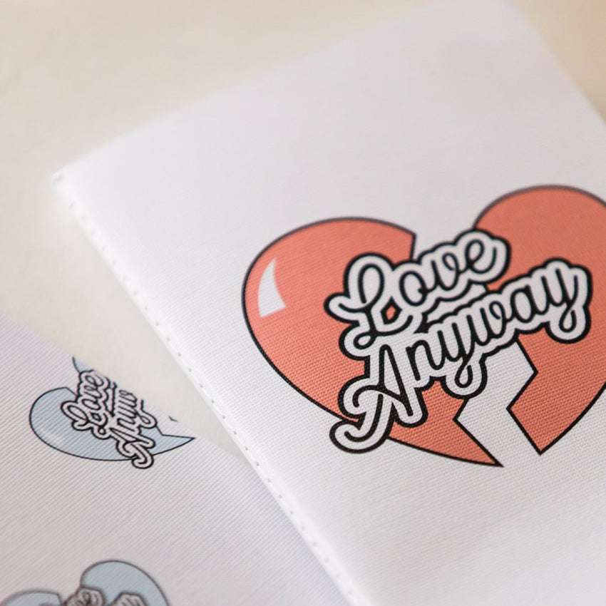 """Love Anyway"" Heart Dot Journal Pack"