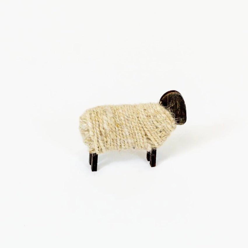 Sisterhood Knits, Refugee-Made Sheep Ornament