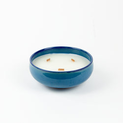 Lemongrass Blue Candle