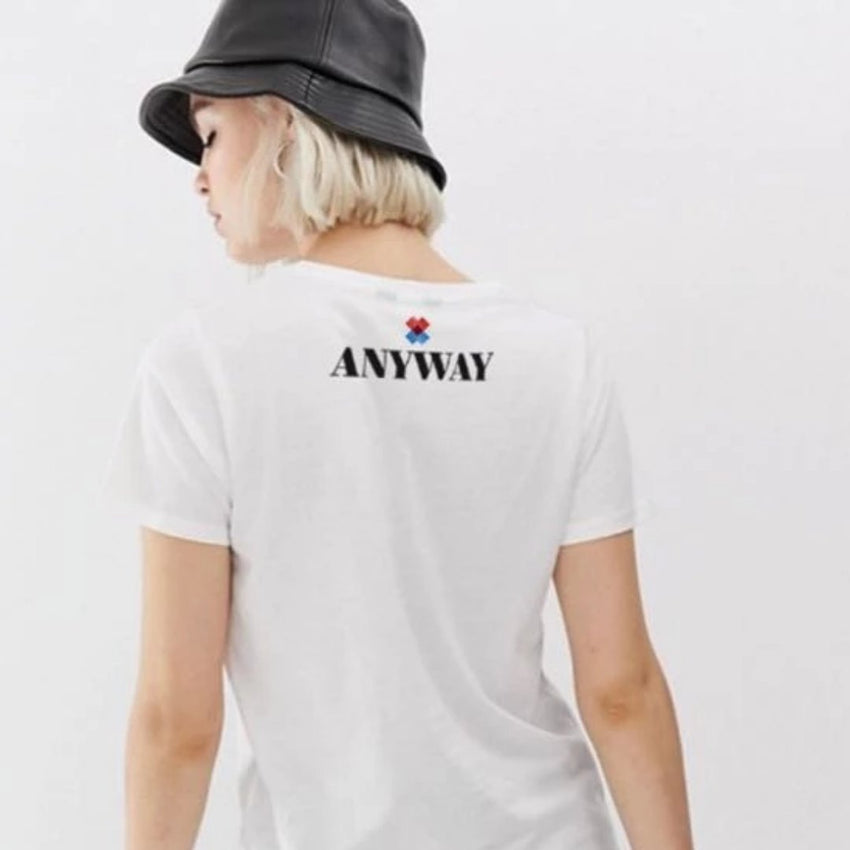 """Love Anyway"" Two-Sided T-Shirt"