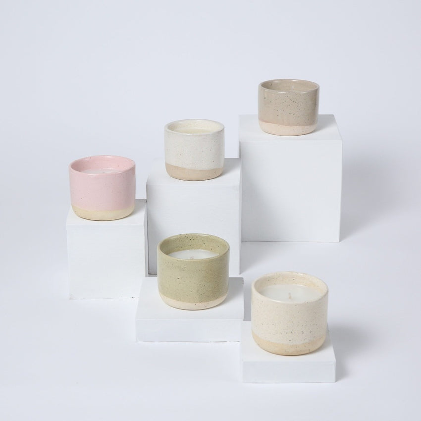 Sisterhood Candles, Hand-Thrown Ceramic Candle