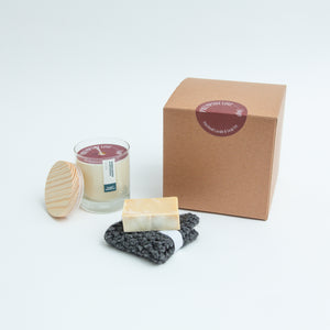 Patchouli Candle and Soap Set