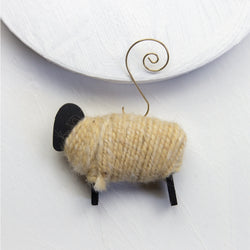 Refugee-Made Sheep Ornament