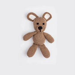 Hand-Stitched Brown Bear Doll