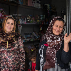 Start a Business for a Refugee Woman