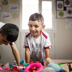 Month of Educational Therapeutic Play for a Refugee Child