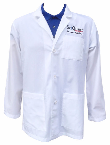 SciQuest Academy Uniform Embroidered Labcoat