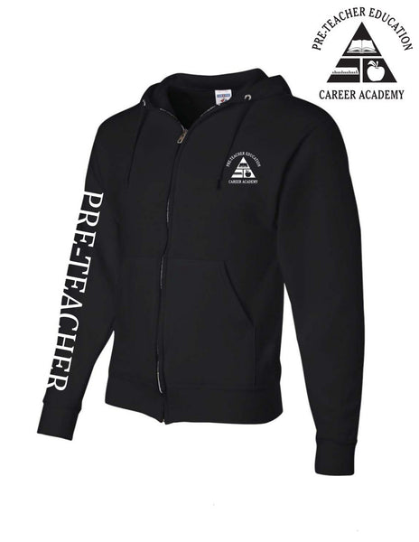 Pre-Teacher Academy Zip-Up Hoodie