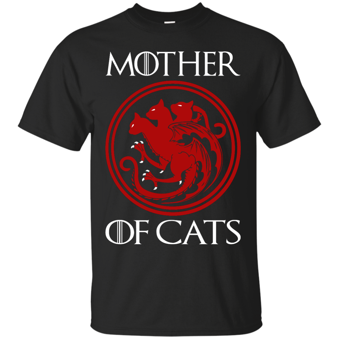 Game Of Thrones – Mother Of Cats T-Shirt