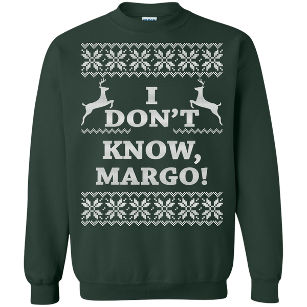 Christmas Vacation Sweaters.Christmas Vacation I Don T Know Margo Sweater Hoodie