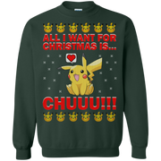 Pikachu   All I Want For Christmas Is Chuuuu Sweater