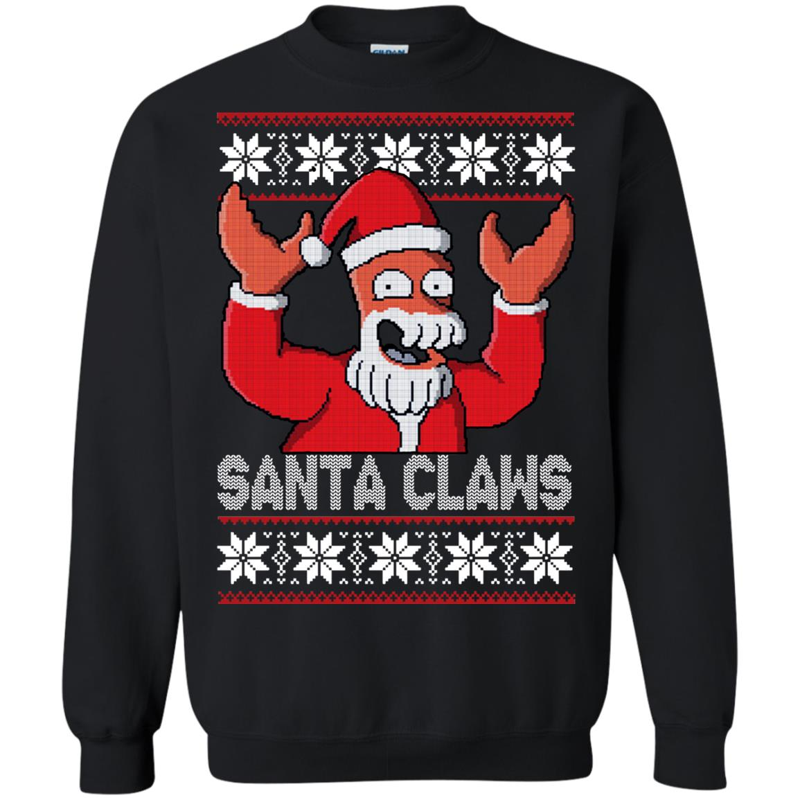 Zoidberg Santa Claws Christmas Sweater