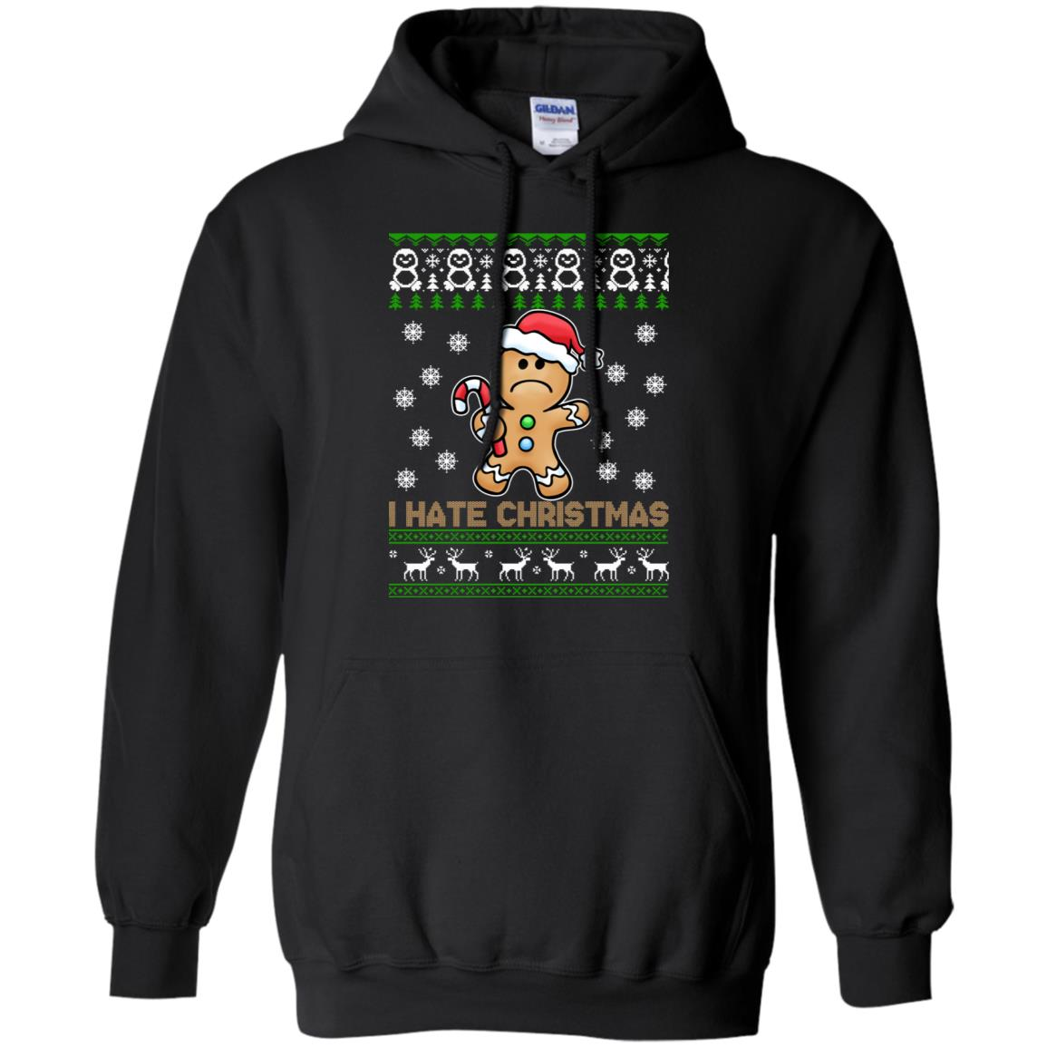 Gingerbread Man I Hate Christmas Sweater