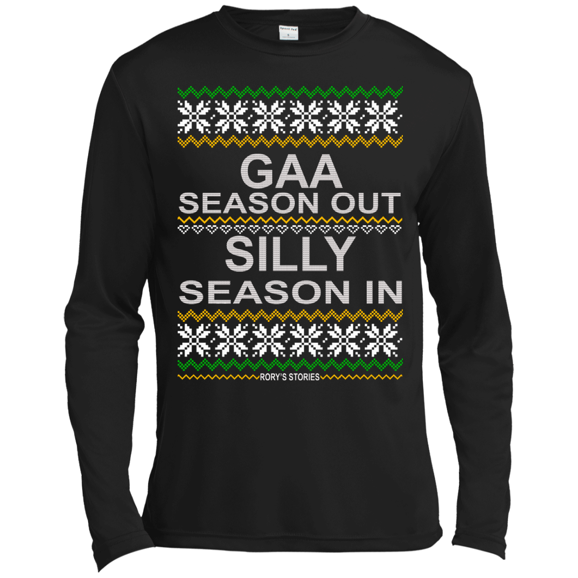 Gaa Season Out Silly Season In Rory's Stories Sweater