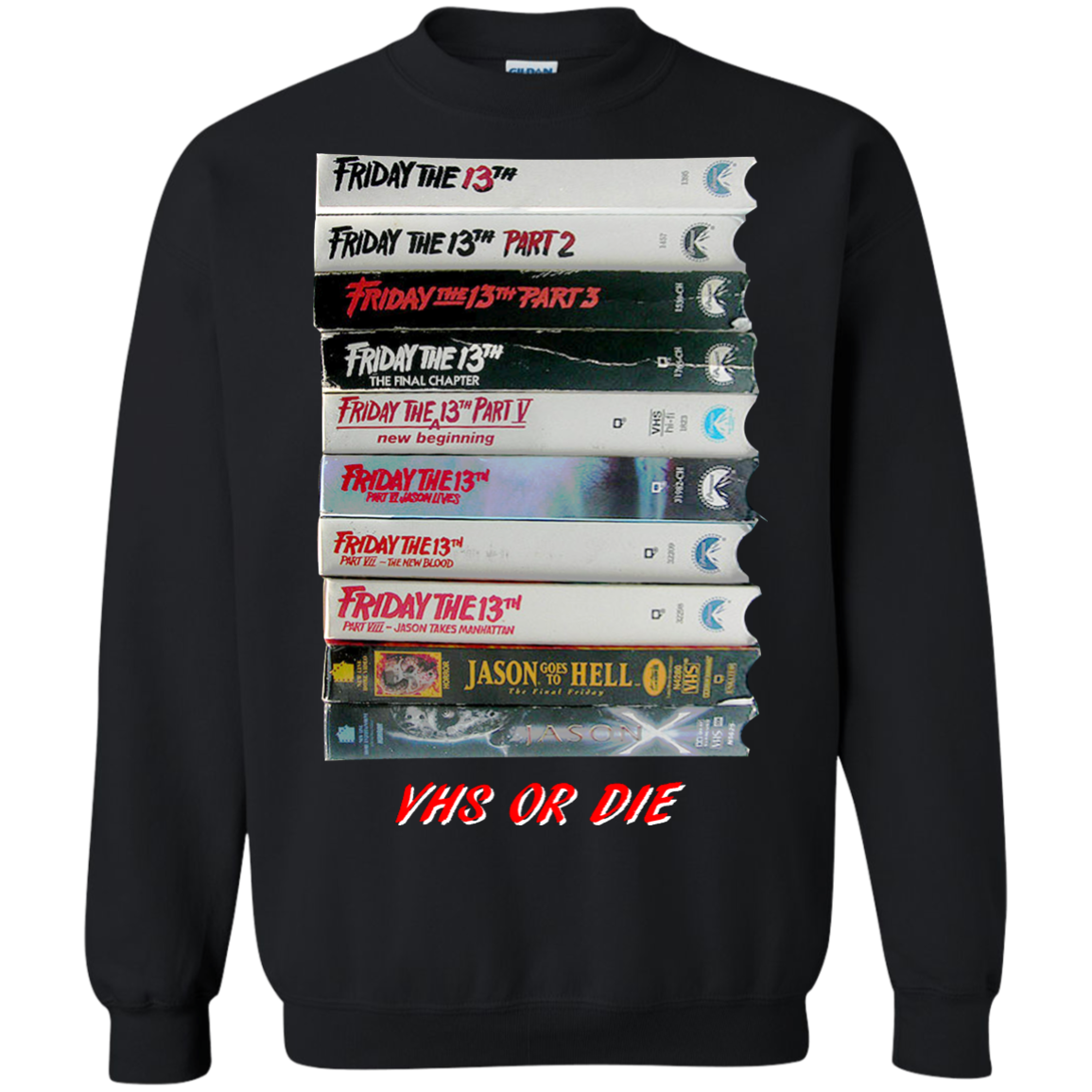Friday the 13th – VHS Or Die Shirt, Hoodie, Tank