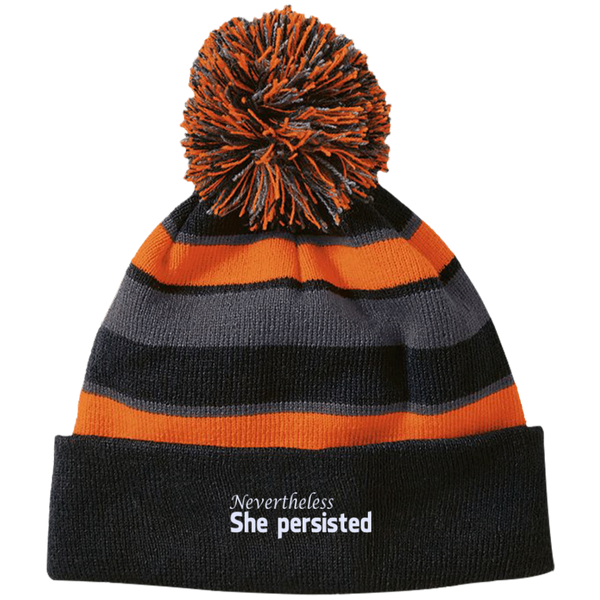 Nevertheless, she persisted hats, beanies