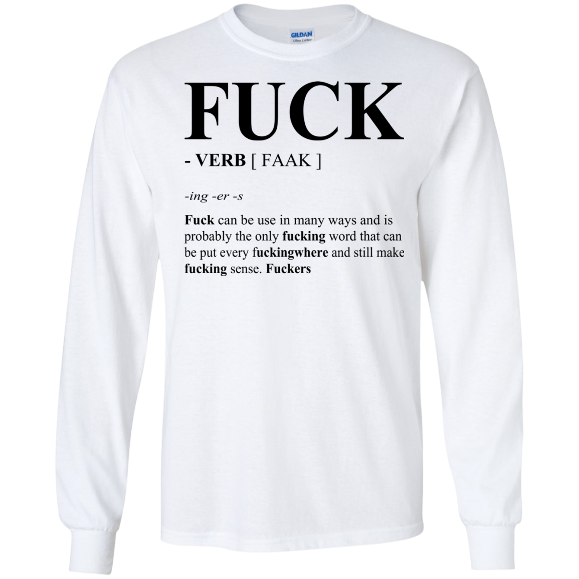 Fuck Definition – Fuck Can Be Use In Many Ways Shirt, Hoodie