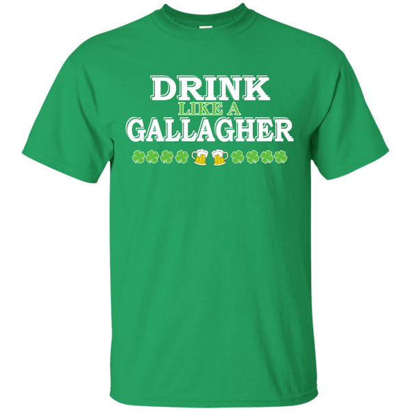 St Patrick's Day: Drink Like A Gallagher Shirt, Hoodie, Tank